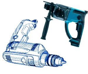 hammer-vs-sds masonry drill bit