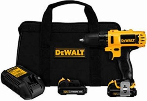 DEWALT DCD710S2 12-Volt Max 3/8-Inch Best Cordless Drill