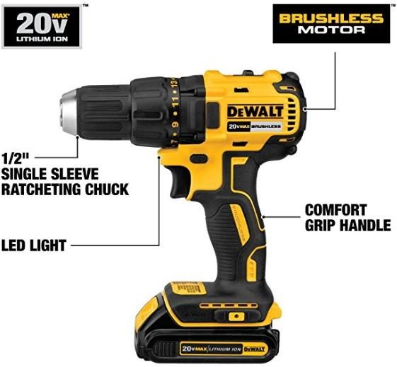 Best cordless drill from 20V DeWalt models