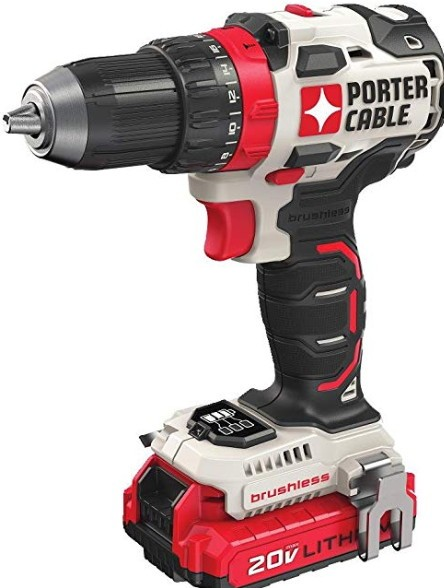Best PORTER-CABLE brushless cordless drill