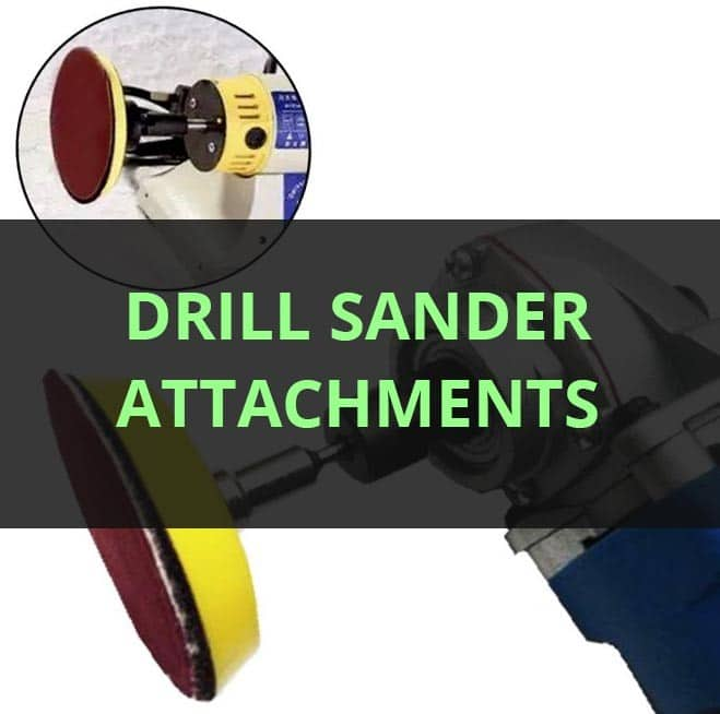 Drill sander attachment