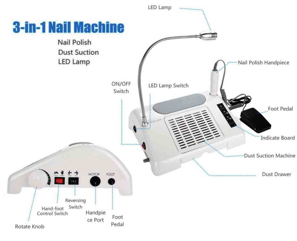 best professional nail drill