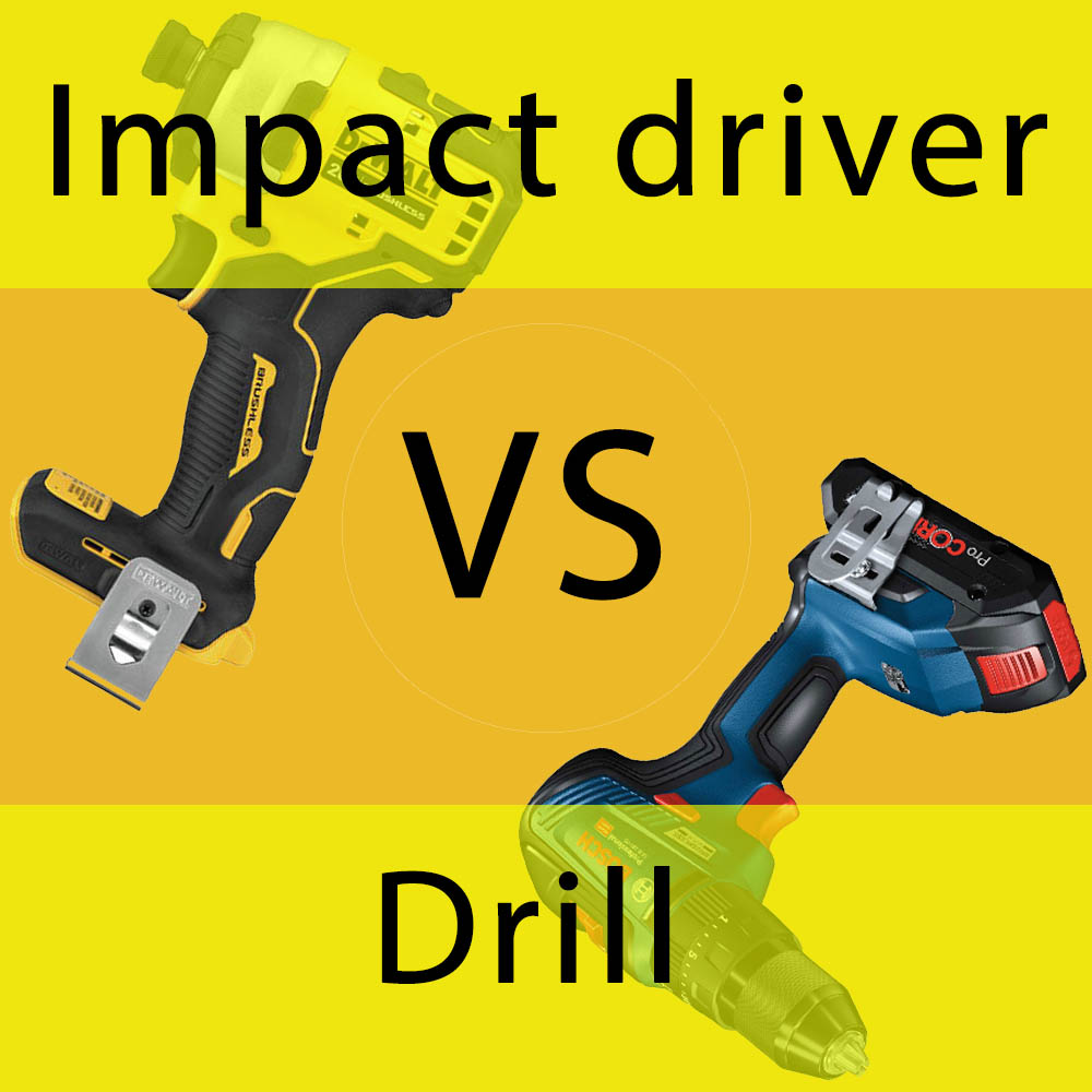 Impact Driver vs Drill – All You Need to Make Right Choice