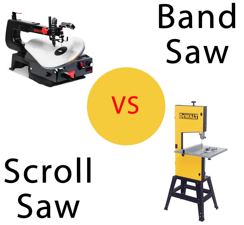 Scroll Saw vs Band Saw Review and Comparison [2021]