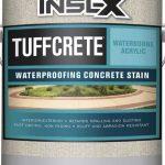 concrete pool deck stain vs paint