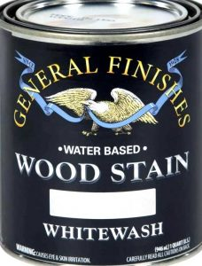 water based white wood stain