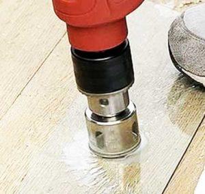 Glass drilling bits set