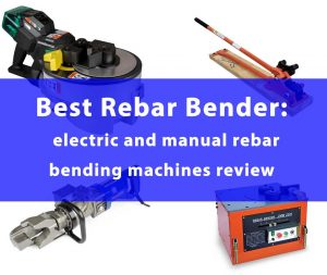 manual and electric rebar bending tool